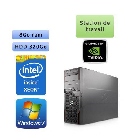 Fujitsu Celsius R920 - Windows 7 - E5-2640 8Go 320Go - Quadro 4000 - Station de travail
