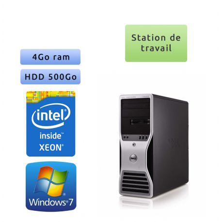 Station de travail Dell Precision T5500 - Windows 7 - E5506 4GB 500GB - Ordinateur Tour Workstation PC