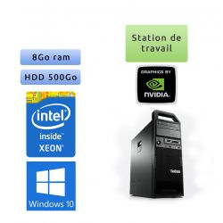 Lenovo ThinkStation S30 TW - Windows 10 - E5-1620 v2 8GB 500GB - K2000 - Ordinateur Tour Workstation PC