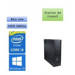 Dell Precision T1700 SFF - Windows 10 - i5 8GB 500GB - Clavier/Souris - Faible encombrement - Ordinateur Tour Workstation PC