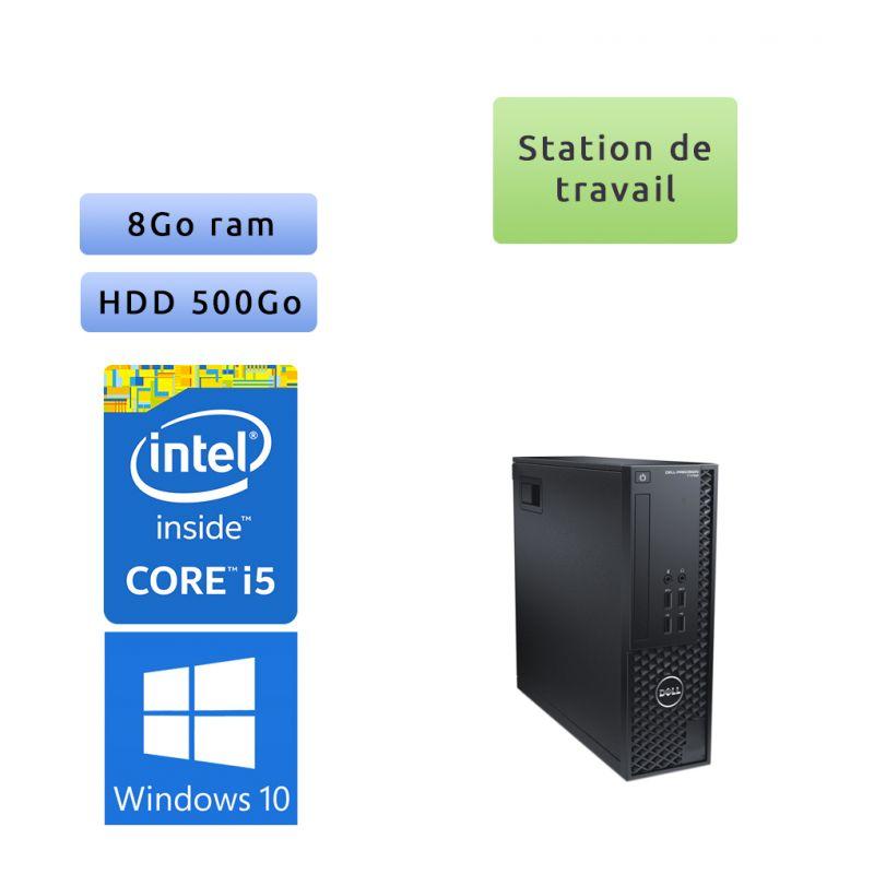 Dell Precision T1700 SFF - Windows 10 - i5 8GB 500GB - Clavier/Souris - Faible encombrement - Ordinateur Tour Workstation PC
