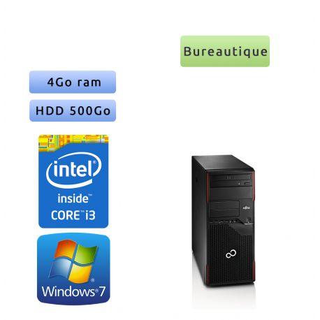 Fujitsu ESPRIMO P700 - Windows 7 - i3 4GO 500Go - Ordinateur Tour Bureautique PC