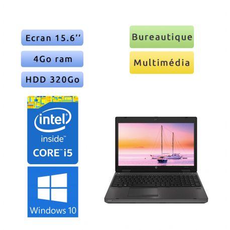HP Probook 6570b - Windows 10 - i5 4GB 320GB - 15.6 - Webcam - Ordinateur Portable PC
