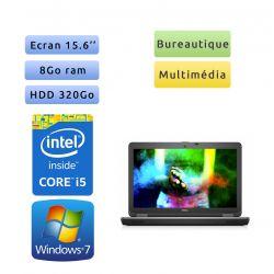 Dell Latitude E6540 - Windows 7 - i5 8Go 320Go - 15.6 - Webcam - Ordinateur portable