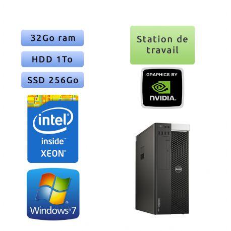 Dell Precision T5810 - Nvidia K4200 - Ordinateur Tour Workstation PC