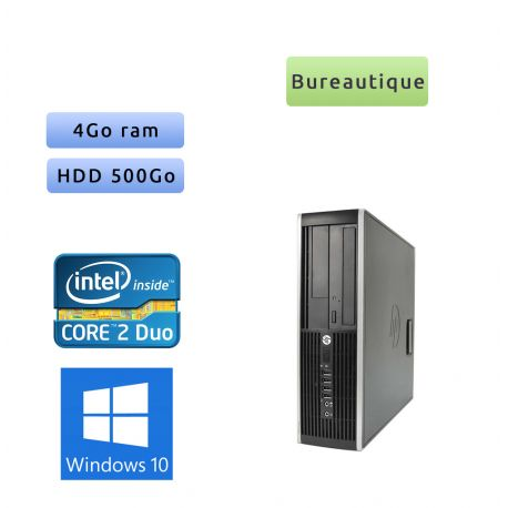 Hp 8200 Elite SFF - Windows 10 - G630 4GB 500GB - PC Tour Bureautique Ordinateur