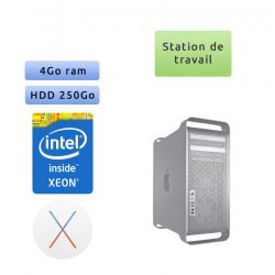 Apple Mac Pro A1186 (EMC 2113) 4x 2.0GHz - Station de Travail