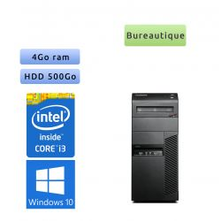 Lenovo ThinkCentre M91P - Windows 10 - i3 4GB 500GB - PC Tour Bureautique Ordinateur