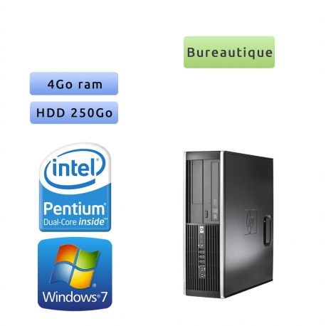 Hp 8300 Elite SFF - Windows 7 - G2020 4GB 250GB - PC Tour Bureautique Ordinateur