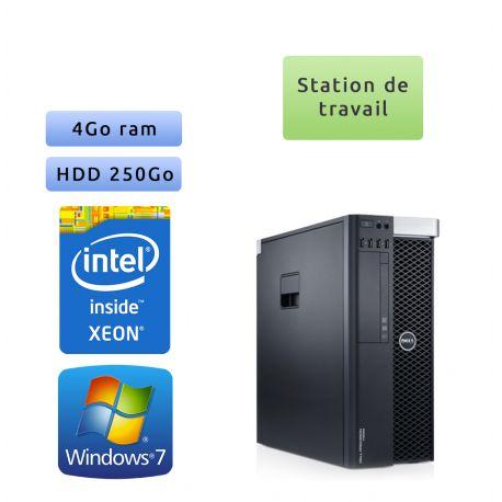 Dell Precision T3600 - Windows 7 - E5-1620 4GB 250GB - Ordinateur Tour Workstation PC