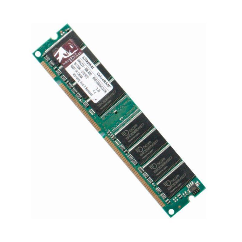 SDRAM PC133 256MB KINGSTON - Barrette Memoire RAM