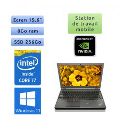 Lenovo ThinkPad W541 - Windows 10 - i7 8Go 256Go SSD - 15.6 - K2100M - Webcam - Workstation Ordinateur Portable PC
