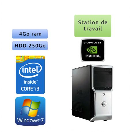 Dell Precision T1500 - Configuration homogène - Ordinateur Unite centrale Workstation PC