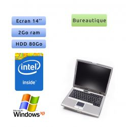 "PC portable Dell Windows XP 32bits - Port Série COM RS232 Port - Dual Core 2GB 80GB 14"" - Ordinateur"