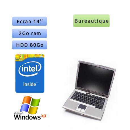 "PC portable Dell Windows XP 32bits - Port Série COM RS232 Port - Dual Core 2GB 80GB 14"" - Ordinateur"