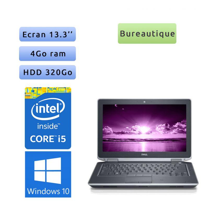 Dell Latitude E6330 - Windows 10 - i5 4Go 320Go - 13.3 - Webcam - Ordinateur Portable PC