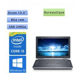 Dell Latitude E6330 - Windows 7 - i5 8Go 240Go SSD - 13.3 - Webcam - Ordinateur Portable PC