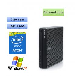 Dell Optiplex FX160 - Windows XP - Atom 3Go 160Go - Tour Bureautique faible encombrement
