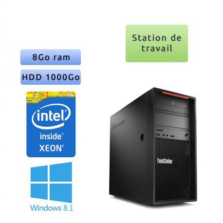Lenovo ThinkStation P300 - Windows 8 - E3-1220v3 8GB 1000GB - Ordinateur Tour Workstation PC