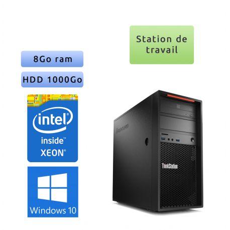 Lenovo ThinkStation P300 - Windows 10 - E3-1220v3 8GB 1000GB - Ordinateur Tour Workstation PC