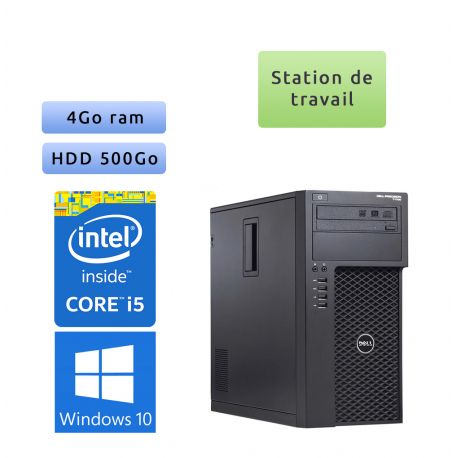 Dell Precision T1700 - Windows 10 - i5 4GB 500GB - Workstation - performances & fiabilité