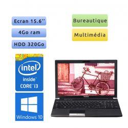 Toshiba Tecra R950 - Windows 10 - i3 4Go 320 Go - 15.6 - Webcam - Grade B - Ordinateur portable - pc léger