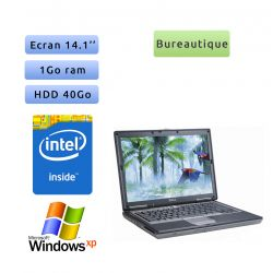 Dell Latitude D620 - Windows XP - CD 1GB 40GB - 14.1 - Ordinateur Portable PC