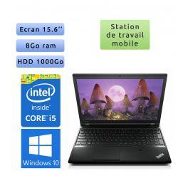 Lenovo ThinkPad L540 - Windows 10 - i5 8Go 1To - 15.6 - Station de travail - performance & mobilité