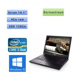 Dell Latitude E6400 2.4 Ghz - Windows 10 - C2D 4GB 120GB SSD - 14.1 - Ordinateur Portable PC