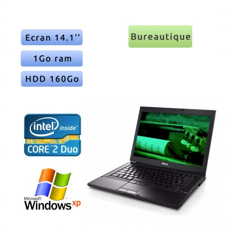 Dell Latitude E6400 2.4 Ghz - Windows XP - C2D 1GB 160GB - 14.1 - Ordinateur Portable PC
