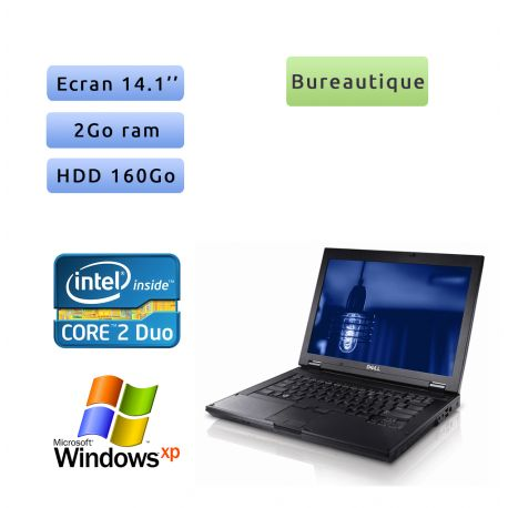 Dell Latitude E5400 - Windows XP - C2D 2GB 160GB - 14.1 - Ordinateur Portable PC