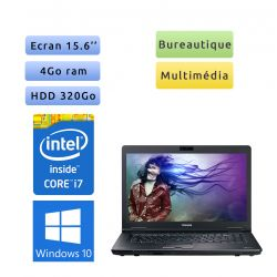 Toshiba Tecra S11 - Windows 10 - i7 4Go 320Go - Webcam - 15.6 - Ordinateur Portable