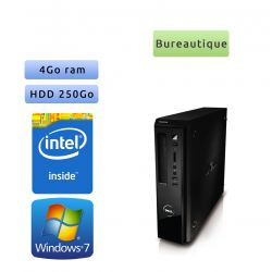 Dell Vostro 230 - Windows 7 - E6600 4GB 250GB - PC Tour Bureautique Ordinateur