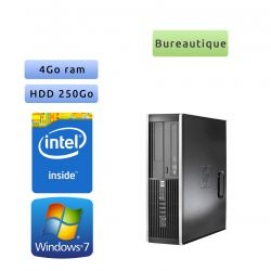 Hp 8300 Elite SFF - Windows 7 - G645 4GB 250GB - PC Tour Bureautique Ordinateur