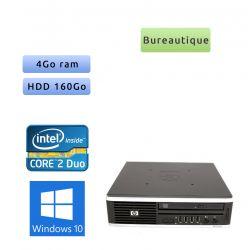 HP Compaq 8000 Elite USDT - Windows 10 - C2D 4GB 160GB - Ordinateur Tour