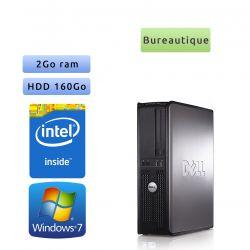 DELL Optiplex 360 - Windows 7 - C 2Go 160Go - port série et parallèle - Ordinateur Tour Bureautique