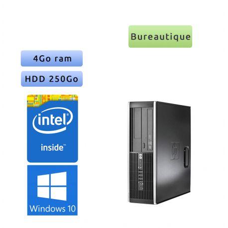 Hp 8300 Elite SFF - Windows 10 - G645 4GB 250GB - PC Tour Bureautique Ordinateur