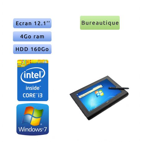 Motion Computing J3500 - Windows 7 - i3 4GB 160GB - 12.1 - Outdoor View Anywhere - Grade B - Tablet PC