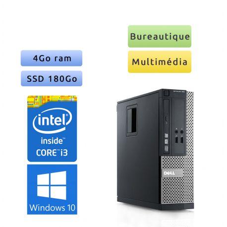 Dell Optiplex 390 SFF - Windows 10 - i3 4Go 180Go SSD - Ordinateur Tour Bureautique PC