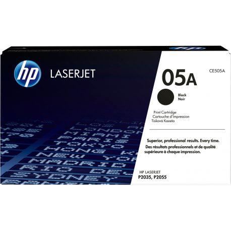 HP LaserJet - CE505A - Cartouche d'impression - Noir