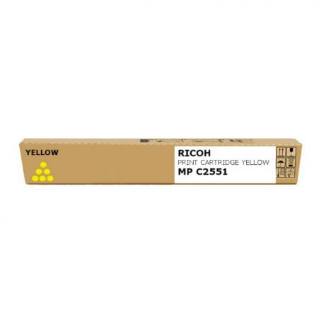 Ricoh - 842062 - Toner MP C2551 - Yellow