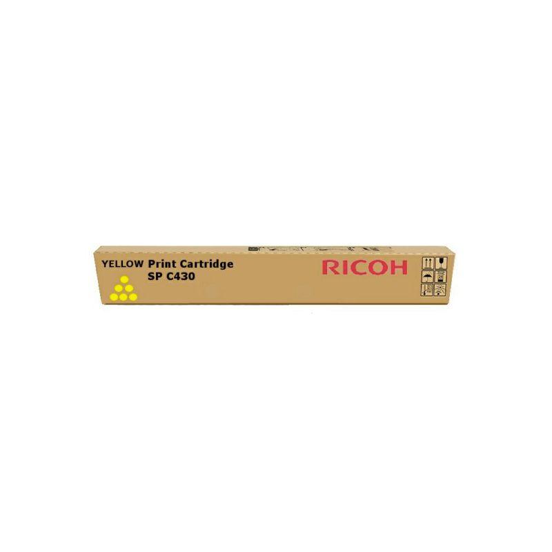 Ricoh - 821282 - Toner SP C430E - Yellow