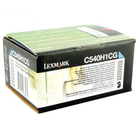 Lexmark - C540H1CG - Cartouche toner - Cyan