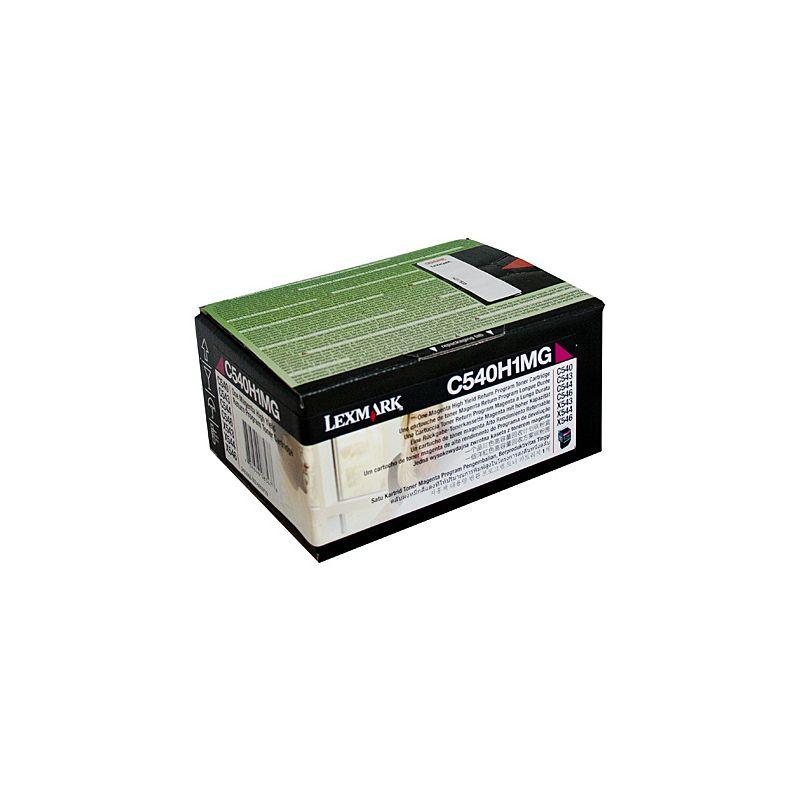 Lexmark - C540H1YG - Cartouche toner - Magenta