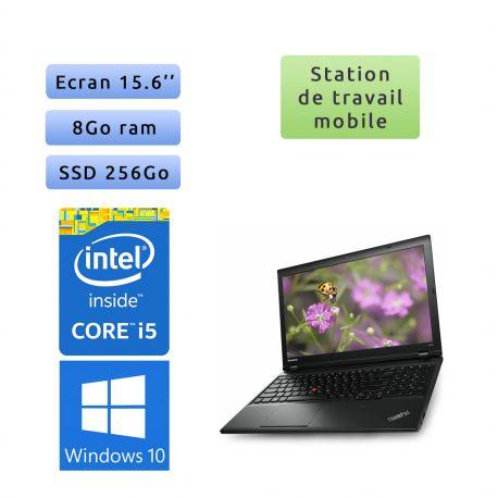 Lenovo ThinkPad L540 - Windows 10 - i5 8Go 256Go SSD - 15.6 - Station de travail