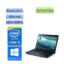 Dell Latitude E6410 - Windows 10 - i5 8Go 1To - 14.1 - Ordinateur Portable PC