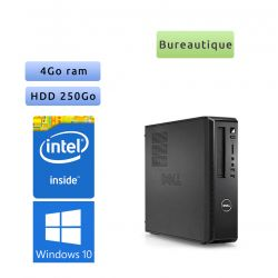 Dell Vostro 230 - Windows 10 - E6600 4GB 250GB - PC Tour Bureautique Ordinateur