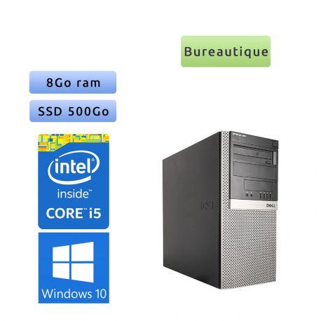 Dell Optiplex 980 MT - Windows 10 - i5 8GB 500GB SSD - Ordinateur Tour Bureautique PC
