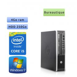 Hp 8200 Elite USDT - Windows 7 - i5 4GB 250GB - PC Tour Bureautique Ordinateur