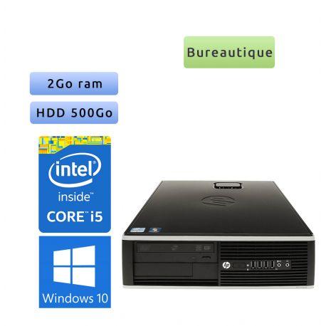HP 8200 Elite SFF - Windows 10 - i5 2Go 500Go - PC Tour Bureautique Ordinateur